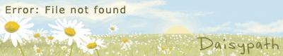 Daisypath Anniversary (1YjM)